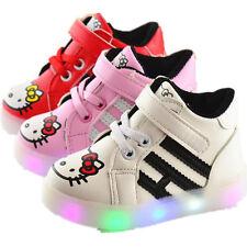 Kinderschuhe Baby Buntes Farbwechsel Sneakers Blinkschuhe LED Licht Turnschuhe