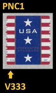 US 4157 Patriotic Banner Presorted Standard 10c PNC1 V333 MNH 2007