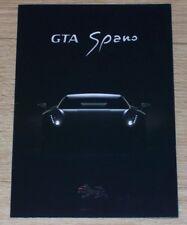 Brochure Spania GTA Spano 2013. Spanish supercar (not Ferrari, Lamborghini)