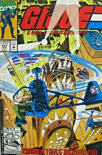GI Joe Real American Hero #127 Marvel Comic 1992 Modern Age FN+ Cobra