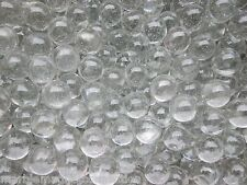 MARBLE BULK LOT 2 POUNDS OF 1 INCH CLEAR GLASS CRYSTAL MARBLES FREE SHIPPING