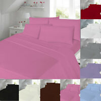 Flannelette Duvet Cover Set Thermal Sheets Set Bedding Single Double King Size