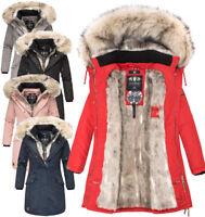 Navahoo Premium sehr warm Damen Winter jacke winter Parka Mantel Luxus daylight