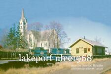 Boston & Maine RR  Lakeport NH  c1968