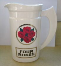 Vintage Four Roses Blended Whisky Ceramic Pitcher