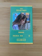 Kpop (G) I-dle Official Dumdi Dumdi Shuhua Photocard Invitation