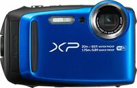 Fuji Finepix XP120 Waterproof Digital Camera - Blue