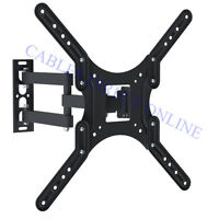 Full Motion Vesa Tv Wall Mount Bracket Tilt Swivel 32 39 40 42 47 Inch