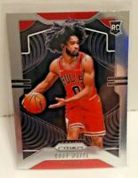 Coby White 2019-20 Panini Prizm Base Rookie Card RC #253 Chicago Bulls