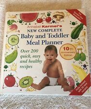 Annabel Karmel's New Complete Baby And Toddler Meal Planner 10th Anniversary Edi
