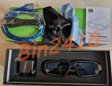 New 3D Glasses replace NVIDIA 3D VISION 2 NEW 1PCS 3months warranty DHL
