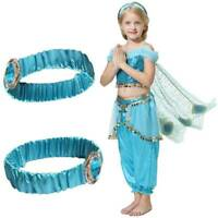 Princess Jasmine Headband Hair Band Costume for Kids Girls Aladdin Fancy Dress