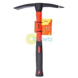 Mini Mattock Fibreglass Handle Shaft Pick Axe Pickaxe Garden Farm Tool