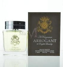Arrogant By English Laundry For Men  Eau De Toilette 3.4 OZ 100 ML Spray