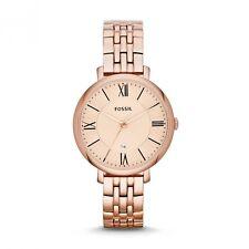 FOSSIL Uhr ES3435 klassische Damenuhr Jacqueline Edelstahl - rosévergoldet