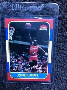1986/87 Fleer #57 Michael Jordan NBA Rookie card (Ungraded BGS)
