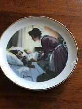 """Norman Rockwell Plate Mother's Love A Special Edition -6 1/4"""" - Fine Porcelain"""