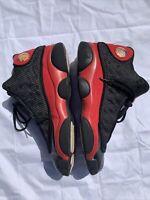Nike Air Jordan XIII 13 Retro BRED Black Red 414571-010 Size 10 Men's