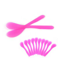 10x Plastic DIY Facial Mask Mixing Spatulas Spoon Stick Cosmetic Makeup Tool  Gw