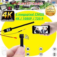 🎥🌟 MICRO TELECAMERA FULL HD 4K IP NASCOSTA CAM SPIA SPY CMOS  SPIA  WIFI
