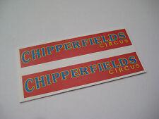 Corgi 503 Chipperfields Giraffe Transporter Stickers - B2G1F