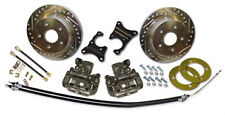 58-70 Impala Complete Rear Disc Brake Kit (Drilled/Slotted Rotors)