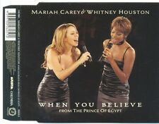 MARIAH CAREY When You Believe Whitney Houston AUS CD Single