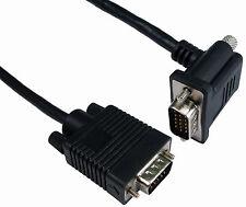 3m SVGA 15 pin cable macho en ángulo recto de 90 ° Conexión Con Conector Macho