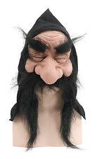 Bristol Novelty BM232B Gnome With Hood/beard Black Mask One Size