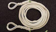 Cuerda de amarre 12 metros de nylon 24mm Entrega gratuita