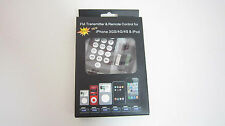 TR-321YZ FM Transmitter Remote Control & Car Charger for iPhone 3GS/4G/4S & iPod