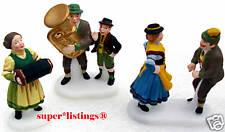 Dept. 56 Polka Fest Set of 3 Retired 1999 Alpine Village 56073 Nib