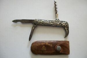 VINTAGE ANHEUSER BUSCH FOLDING POCKET KNIFE
