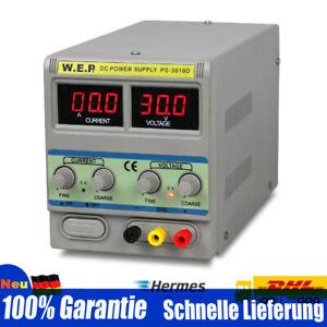 0-15V 2A/0-30V 10A DC Netzteil Netzgerät Labornetzteil Power Supply Einstellbare