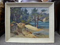 Oil Painting 1920 1940 Joseph Edward J. Hennah signed Impressionist Welsh Art