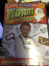 Age 9+ Selectmedia Dvd Video Discovery of Hands-On Worm Dissection 14D