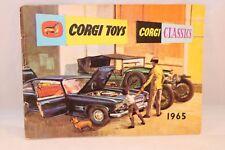 Corgi Toys Catalogue 1965 English excellent plus to near mint original condition