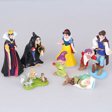 Snow White and the Seven Dwarfs Evil Queen Prince witch 8pc PVC figure toy doll