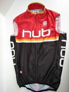 Sportful HUB  Cycling Running Vest Gilet  Size M       Gore Windstopper
