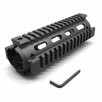"Length 6.7"" Drop In Handguard Picatinny Quad Rail 4 Rail 6.7 Inch Carbine Black"