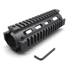 "Length 6.7"" Aluminum Handguard Mount 20mm Picatinny Quad Rail 4 Rail for Rifle"