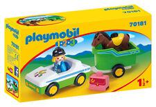 PLAYMOBIL Auto E Trasporto Cavalli 1.2.3 70181 PLAYMOBIL