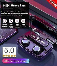 IPX7 Bluetooth·5.0 Headset Wireless TWS Earphones Mini Earbuds Stereo Headphone-