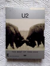 U2 THE BEST OF 1990-2000 – DVD, 2-DISC BOX SET, R-4, LIKE NEW, FREE  SHIPPING