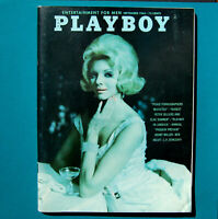 VTG Playboy September 1964 Very Fine (7.5 - 9.0) Playmate Astrid Schulz