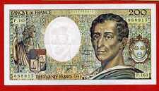 (Ref: P.163) 200 FRANCS MONTESQUIEU 1994 (SPL)
