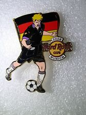MUNICH,Hard Rock Cafe Pin,2006 Worlds Soccer Cup Series with Flag