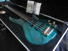 1995 Ibanez SR1200 Bass guitar NICE figured emerald jadegreen original Hard case
