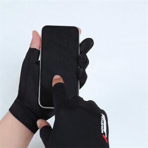 Sports Cycling Gloves Motorcycle Bike Half Finger Glove Fingerless For Men *