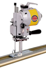 "5"" Straight  fabric end cutter machine up to 96"" across ,semi automatic complete"